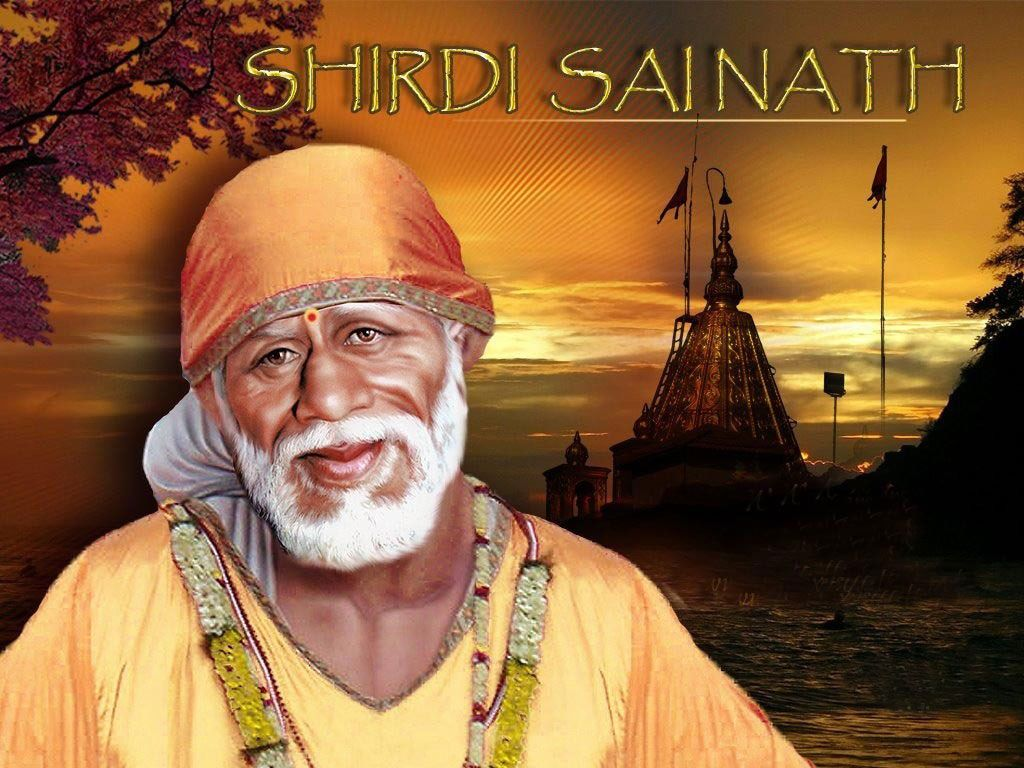 Hd wallpaper sai baba - Shree Sai Baba Wallpaper Download