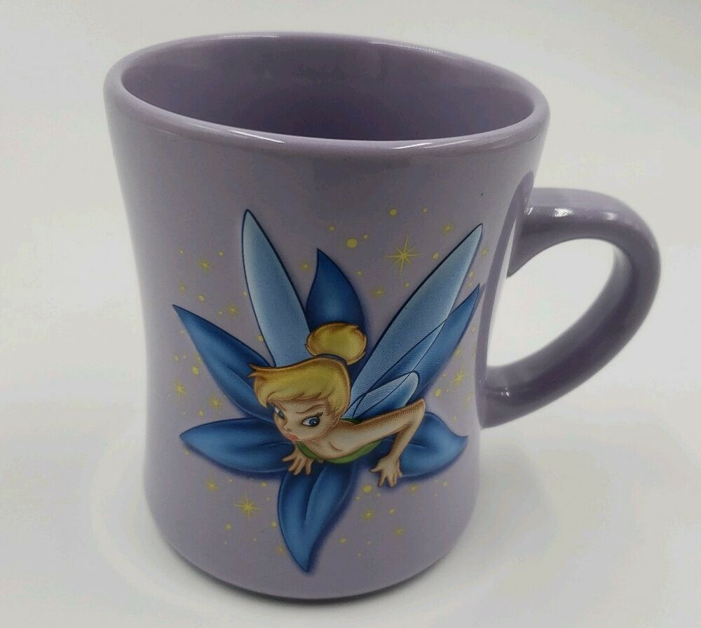 DISNEY Tinkerbell Stuck In Keyhole Oversized 3D Coffee Cup