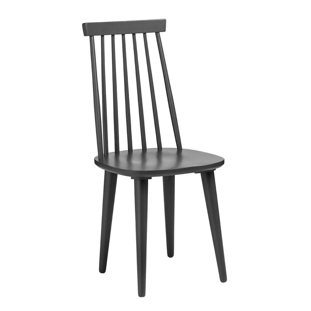Vermont Herning Chair, Dark Grey Wood