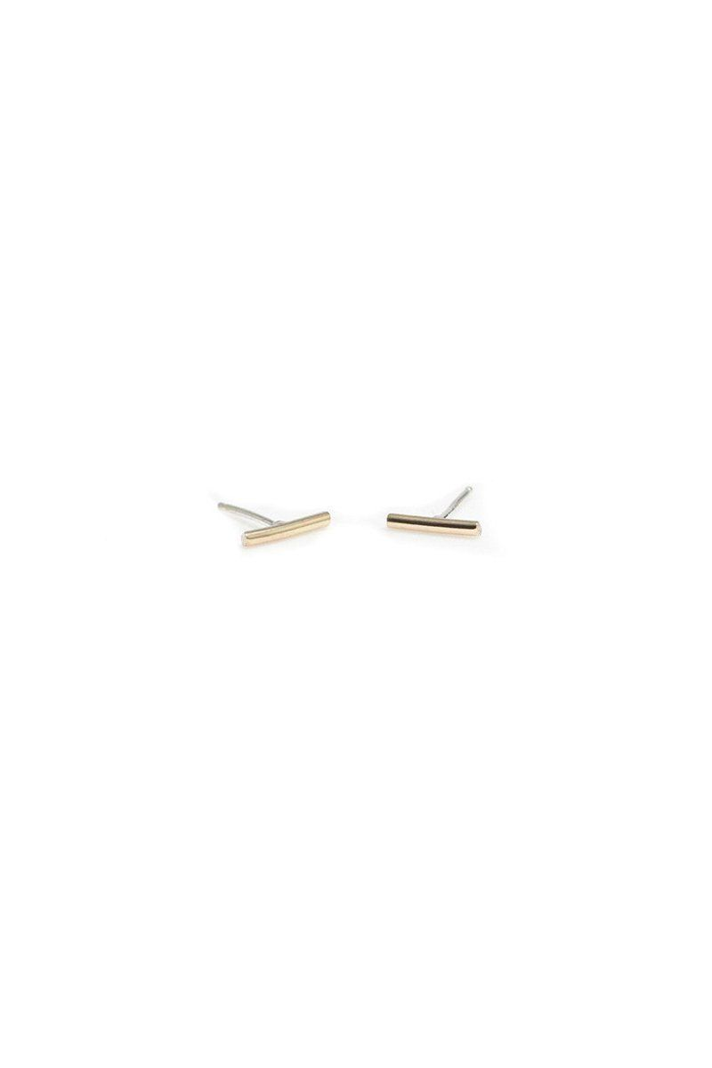 ed5380243 Wolf Circus Bar Studs on | earrings | Studs, Jewelry, Bar