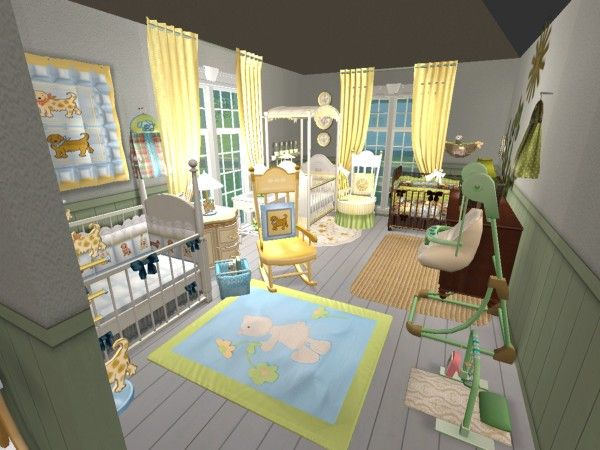 Baby Boutique Virtual Retail Décor