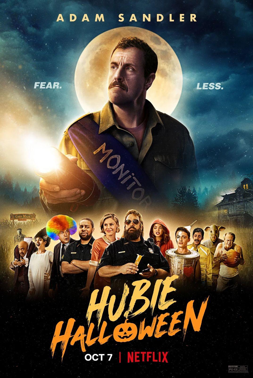 Hubie Halloween Poster In 2020 Adam Sandler Netflix Original Movies Halloween Movies