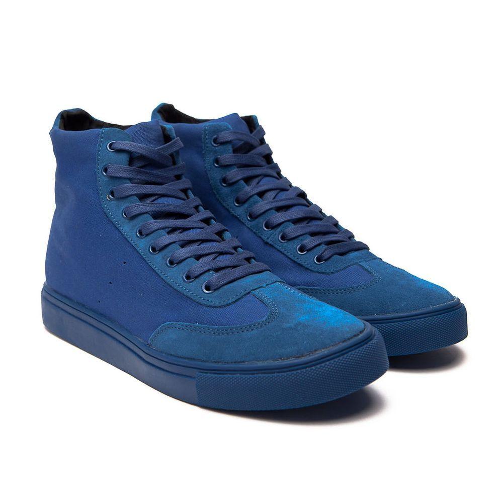 bd8734d9d5b99 Generic Surplus Champion Hi Canvas   Suede Men s High Top Sneaker US8.5   fashion