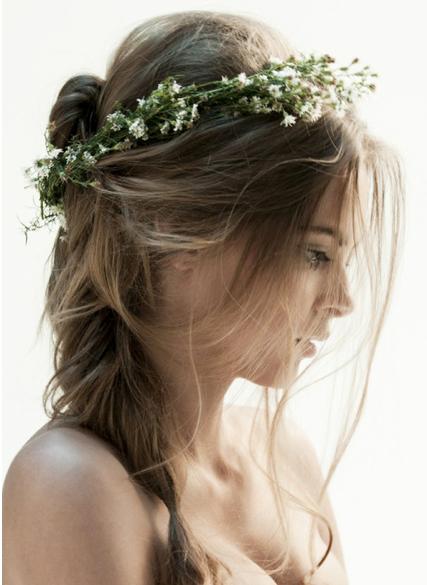 She looks like an elf princess Coiffure mariage, Jolie