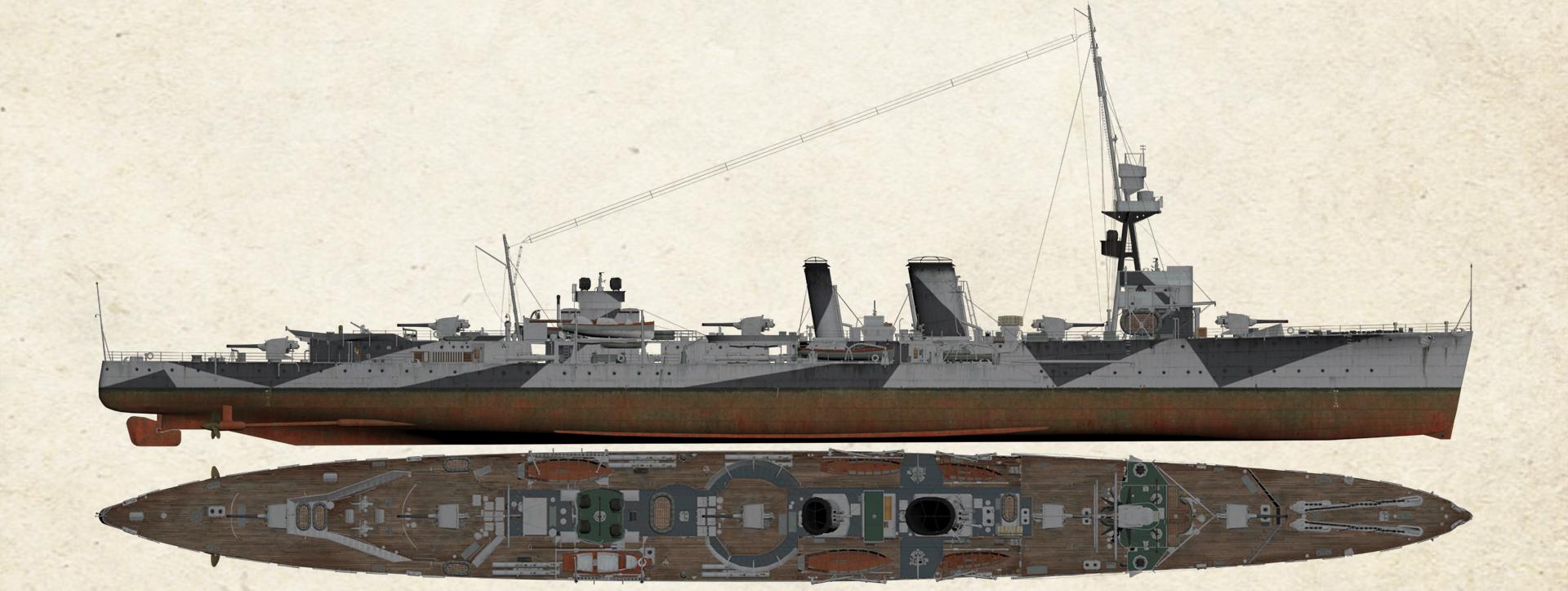 HMS Caledon ww2