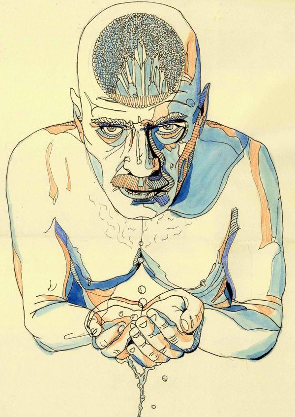 Refreshing Walter, by La May   25 Best Pieces Of Breaking Bad Fan Art