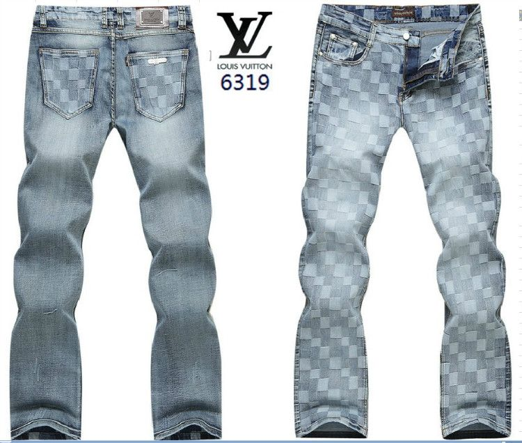 41dbce637c7 Louis Vuitton men jeans-LV7873M