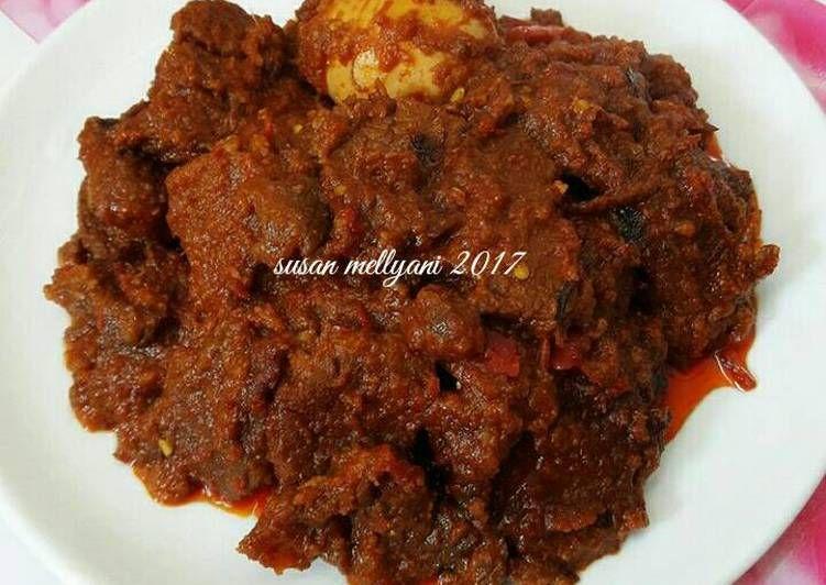 Resep Rendang Daging Sapi Oleh Susan Mellyani Resep Daging Sapi Resep Masakan Indonesia Resep