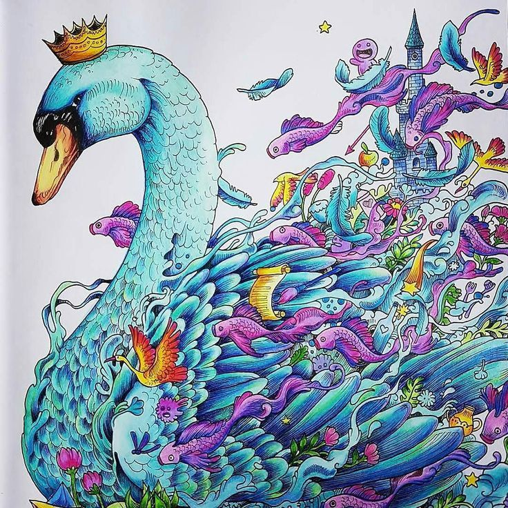 10 Best Images About Imagimorphia Completed Pages Inspiration On Pinterest Watercolors Gel Pen Animorphia Coloring Book Animorphia Coloring Colouring Heaven