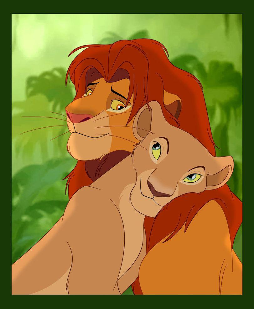 Favorite Animal Couple 2 Simba And Nala Rei Leao Filme O Rei