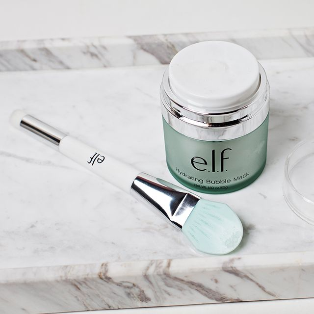 Treat your post-holiday face to our NEW Hydrating Bubble Mask. Watch the magic as bubbles fizz and foam to remove dirt and cleanse pores. Cool, right? #playbeautifully #elfcosmetics #skincare