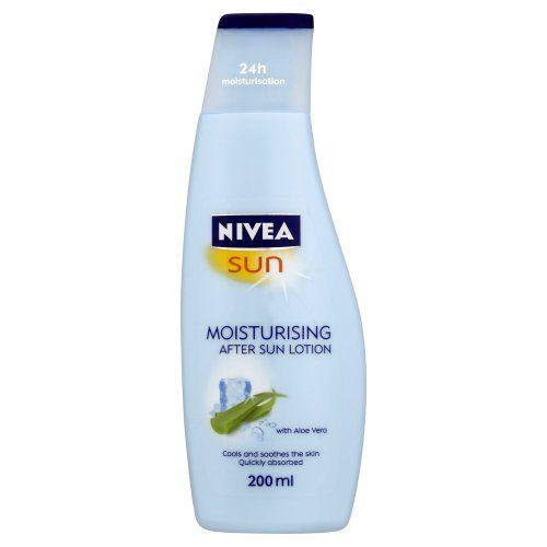 Nivea Sun Moisturising After Sun Lotion With Aloe Vera Silky Skin Feeling 200ml Nivea Sun Moisturising After Sun Lotion 200ml Niv Sun Lotion After Sun Lotion