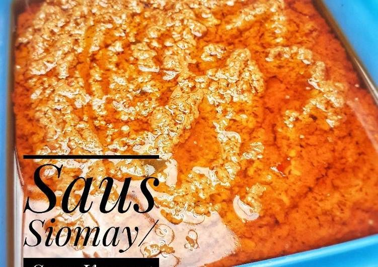 Resep Saus Siomay Saus Kacang Oleh Yasmin Kitchen Resep Ide Makanan Resep Makanan