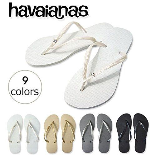 6878e2eaa6dfab Havaianas Slim Crystal Glamour Women s Flip Flops Variety of Colors All  sizes     See this awesome image