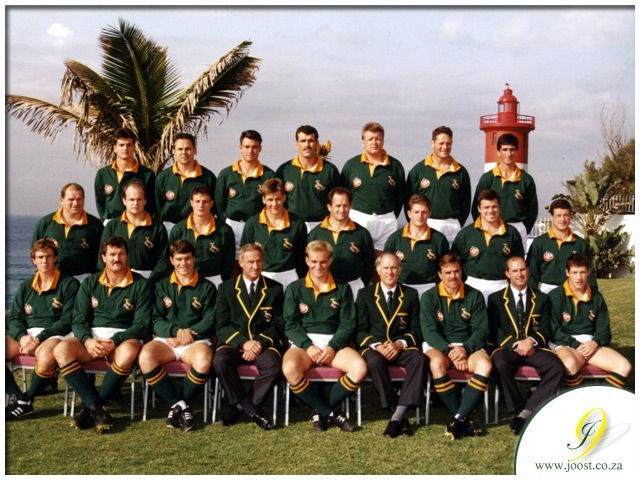 This Day In History South African Springbok Rugby Player Joost Van Der Westhuizen Is Born Http Dingeengoete B Rugby Springbok Rugby Rugby League World Cup