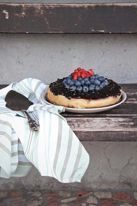 Cheesecake Cotta Yogurt E Frutti Di Bosco Easy