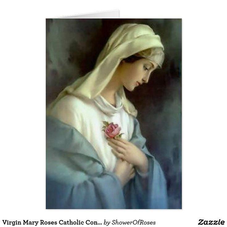 Catholic condolence thank you virgin mary