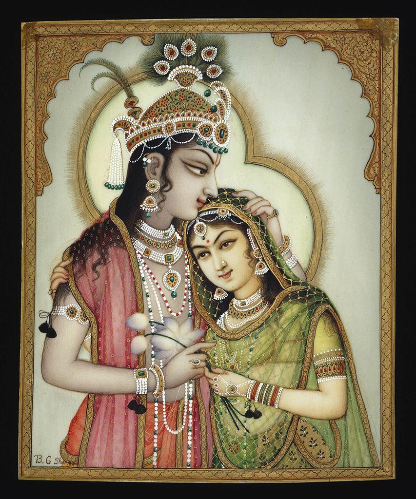 Voir et croire: Krishna dans l'art de BG Sharma - Corbeau Collection