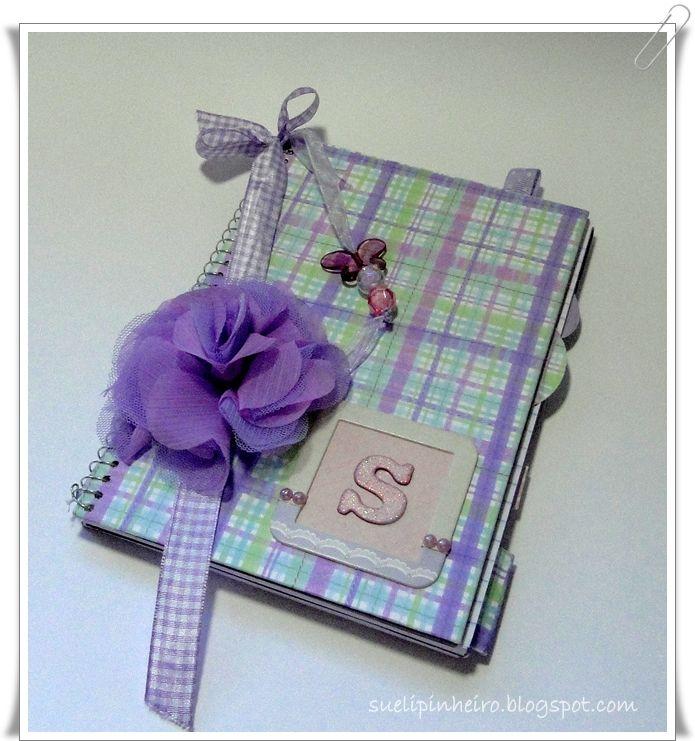 Cuaderno decorado libretas pinterest cuadernos - Papel decorado manualidades ...