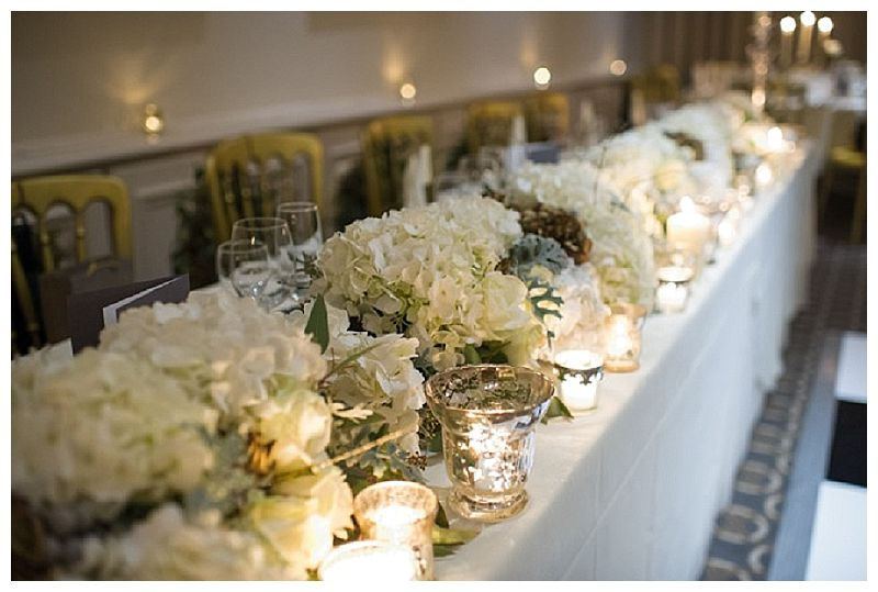 Stunning Full Length Garland For Top Table