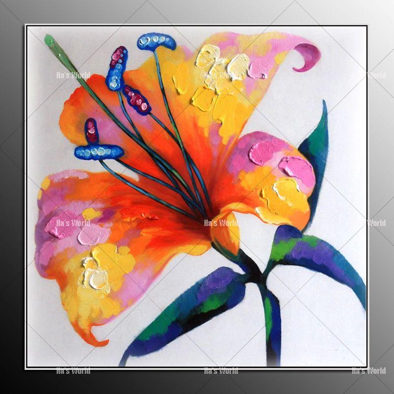 Aliexpress.com: Comprar Sin marco pintura al Óleo abstracta moderna ...