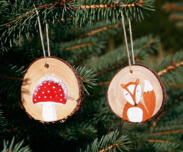 So dekorierst Du Euren Tannenbaum kindersicher und schön #christbaumschmuckbastelnkinder