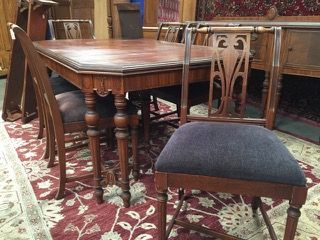 Wonderful Dining Room Set By Northern Furniture Company Please See Lot 11929 For Matching Sideboard