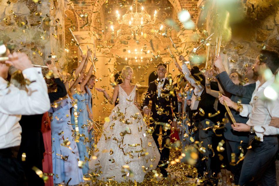 Veronika and Alexander Wedding streamers, Wedding