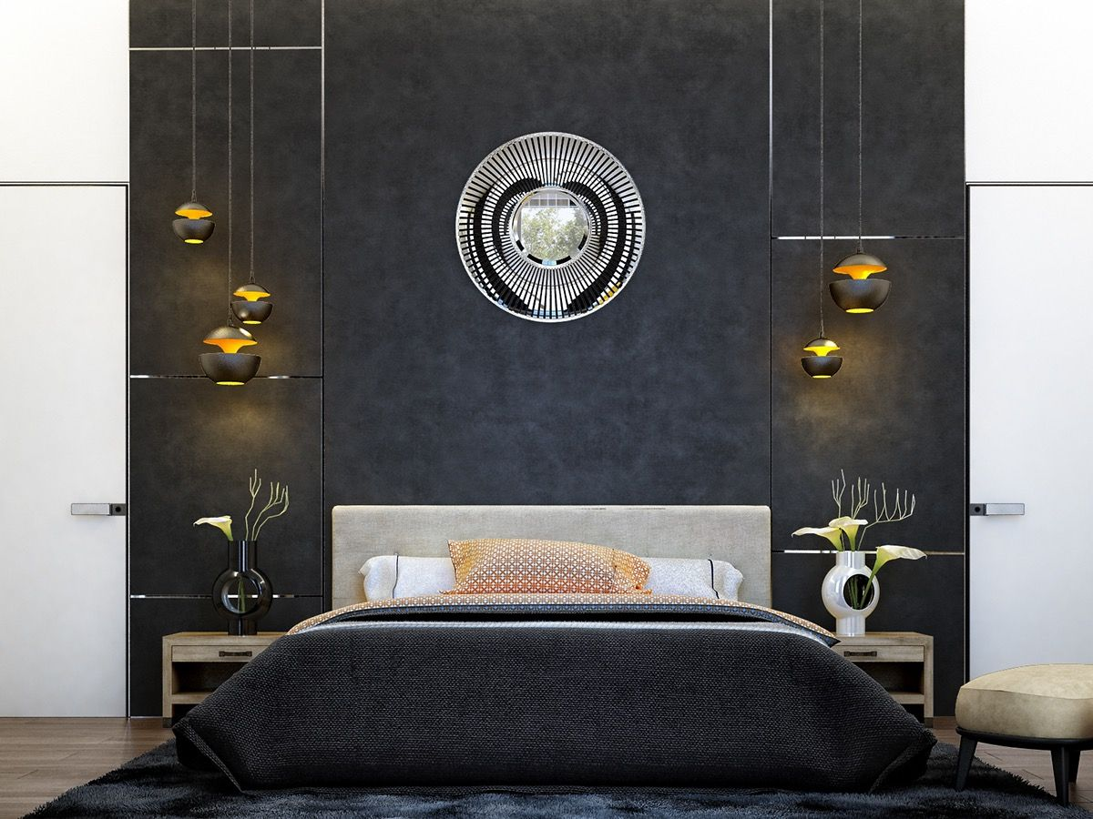 These Dark Bedrooms Will Put You In A Dream Like State   Black ...