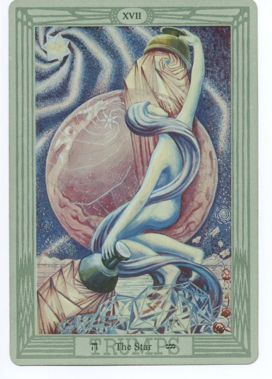 Thoth Fortune Tarot Card Tutorial: ALEISTER CROWLEY THOTH TAROT CARD DECK.