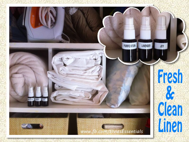 Freshen Up Your Linen After Sitting In The Linen Closet