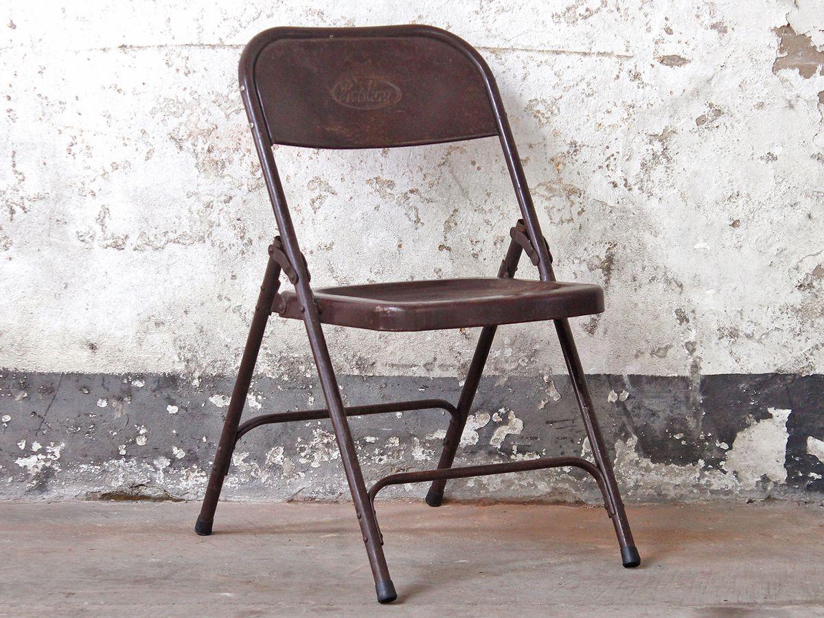 Vintage Metal Folding Chairs - Brown (met afbeeldingen