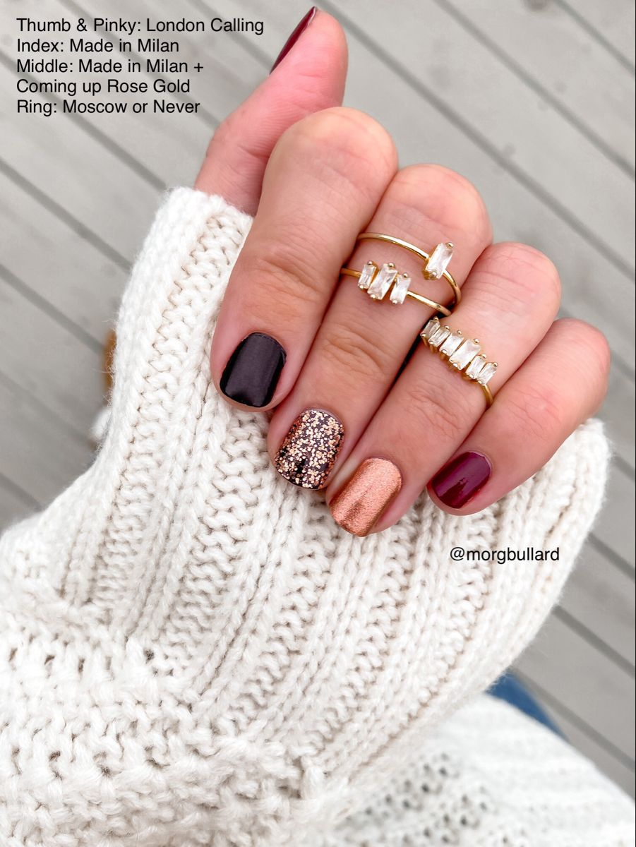 Color Street Nail Combo - London calling, made in