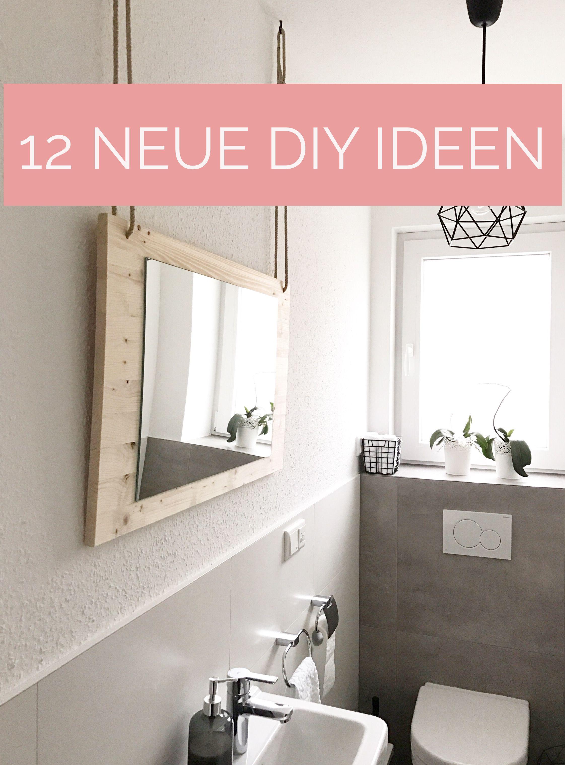 diynstag: 13 neue kreativ-ideen   badezimmer, gäste wc und gast, Wohnzimmer dekoo