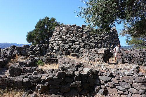 Nuragic Village at Nuraghe Mannu, Sardinia