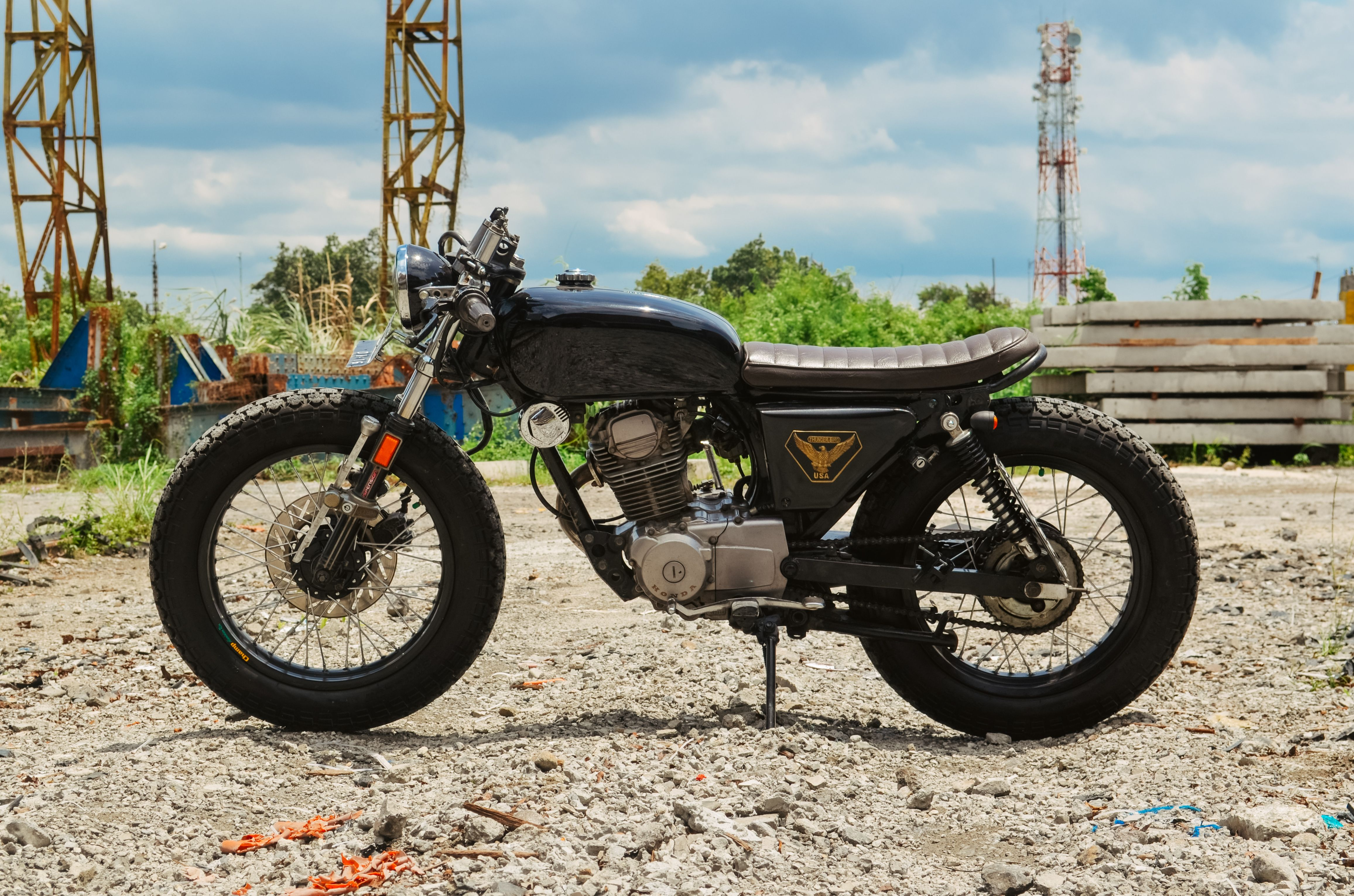 honda gl max 150 bratstyle | cars & motorcycles | pinterest