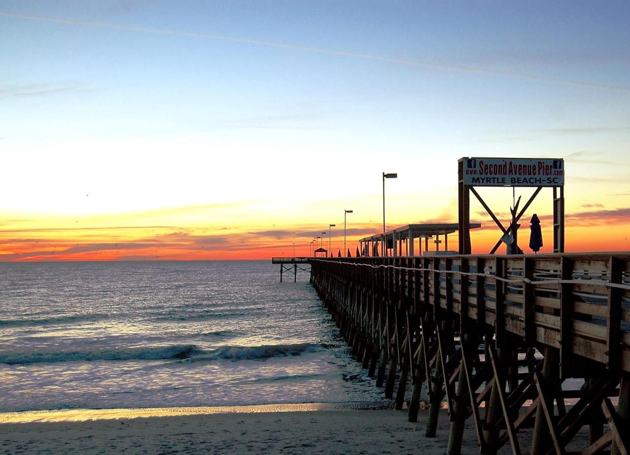 Reel in a Good Time at Myrtle Beach Piers Myrtle beach
