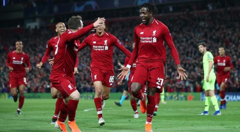 Liverpool Defeated Barcelona 4 0 In Uefa Champions League Uefa Champions League Champions League Champions League Semi Finals