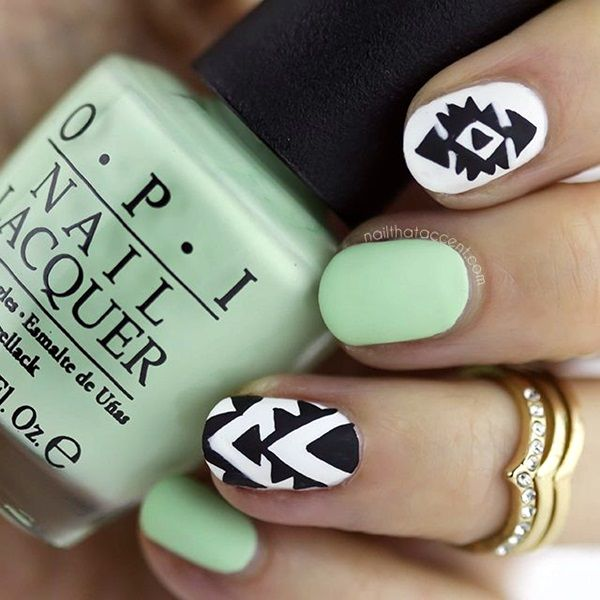 Spring-Nails-Designs-and-Colors-Ideas-11.jpg 600×600 pixels | nails ...