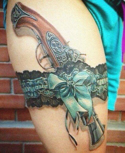 Pin By Eric Swiatkowski On Tattoos Lace Garter Tattoos Thigh Tattoos Women Girl Thigh Tattoos