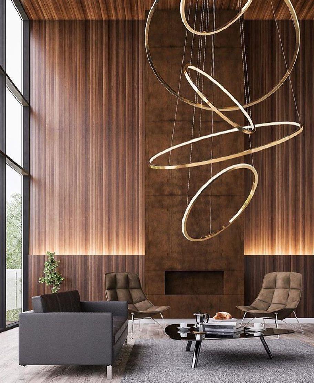Erkan adl kullan c n n dekorasyon panosundaki pin for Iluminacion minimalista interiores