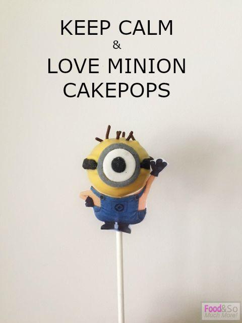 Minion Cakepops!! Met stap voor stap uitleg hoe je ze zelf kan maken!