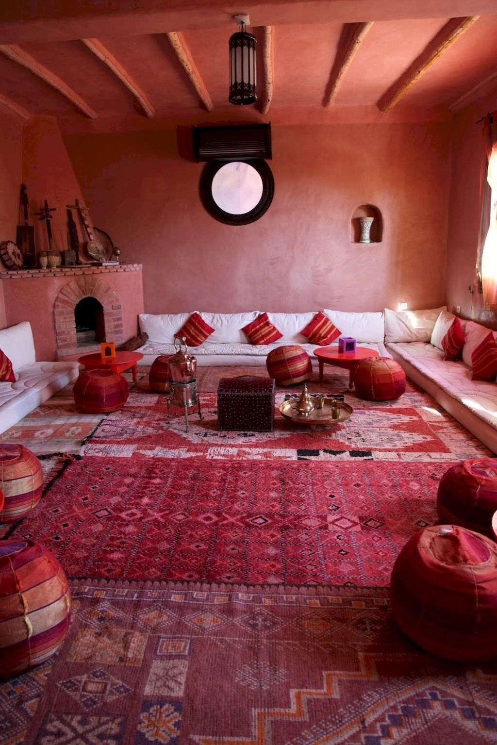 fascinating moroccan style bathroom | 50+ Fascinating Moroccan Vibe Style Living Room for ...