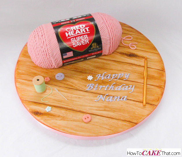 skein of yarn cake tutorial full photo step by step tutorial on how