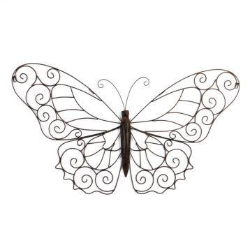 Wall decor ideas butterflies coloring
