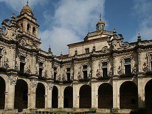 Claustro Monasterio de Celanova, Ourense.