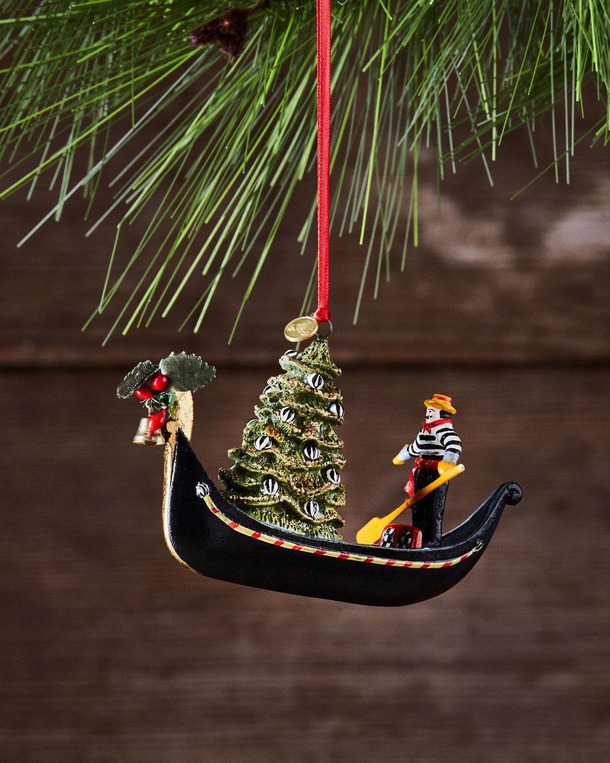 MacKenzieChilds Gondola Christmas Ornament in 2020
