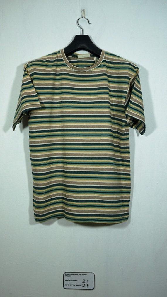 5a633b408a7 Vintage 90s Arizona Jeans striped T shirt Size Medium M   Vintage Striped t  shirt   skate skateboard