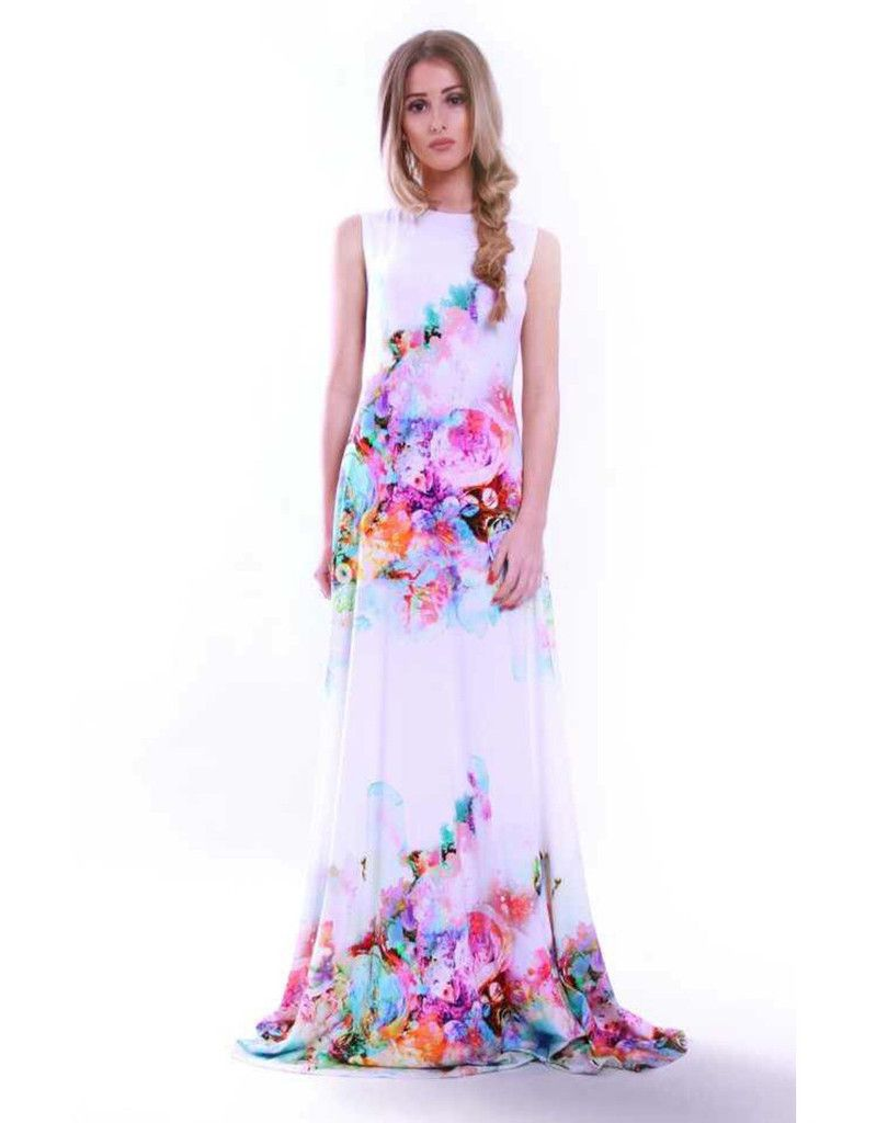 a3a45aa7b2 The Rebecca Rhodes RiRi dress has arrived in this beautiful White floral  print.