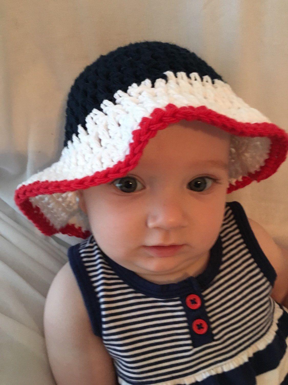 8ba44c64b665f Crochet sun hats for babies